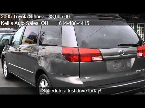 2005 Toyota Sienna Xle Limited 7 Penger 4dr Minivan For S