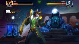 SHOWDOWN: ACT 5.4.6 – 4* Rank 3 Loki VS Ultron Classic – Final Boss Marvel Contest of Champions