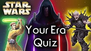 Find out YOUR Star Wars ERA! - Star Wars Quiz