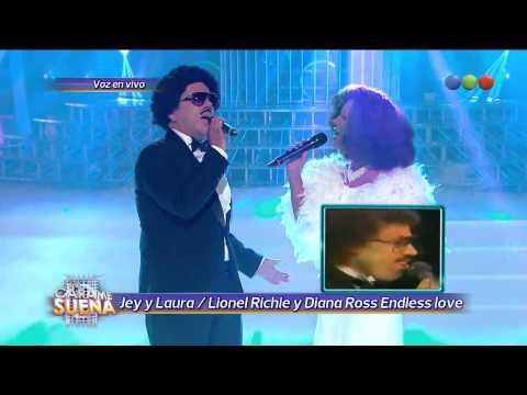 Laura Esquivel y Jey Mammon son Diana Ross y Lionel Richie - Tu Cara Me Suena (Gala 12)