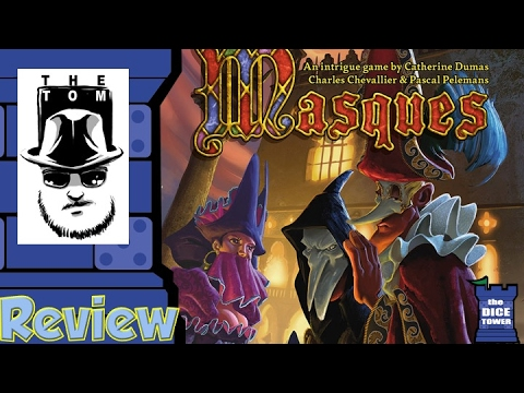 Masques Review - with Tom Vasel
