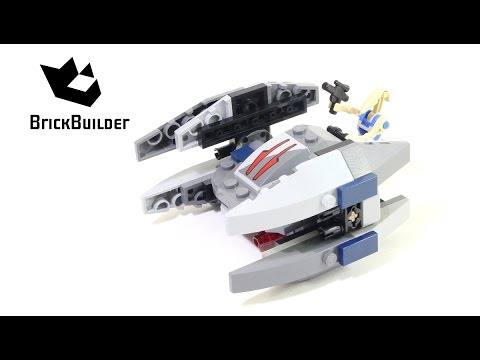 Lego Star Wars 75073 Vulture Droid Lego Speed Build Youtube