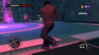 "Game Fails: Saints Row 3 ""Most be a yoga master... with extra squishy insides"""