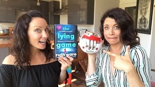 LIE DETECTOR CHALLENGE - SEE US GET ZAPPED WITH THE LYING GAME - BOOK REVIEW #AD