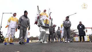 Hubo at the Winter Olympic Torch Relay at KAIST thumbnail