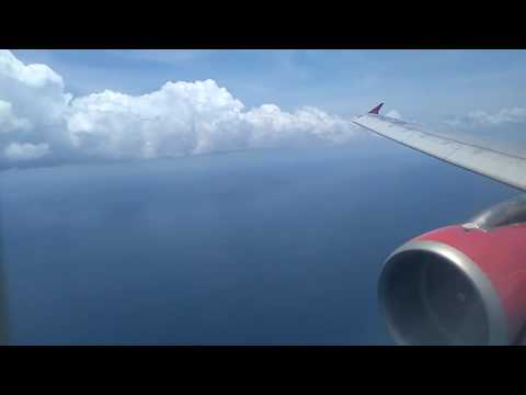 Very Rough Landing!! VivaColombia Airbus A320 Landing at San Andrés Island.