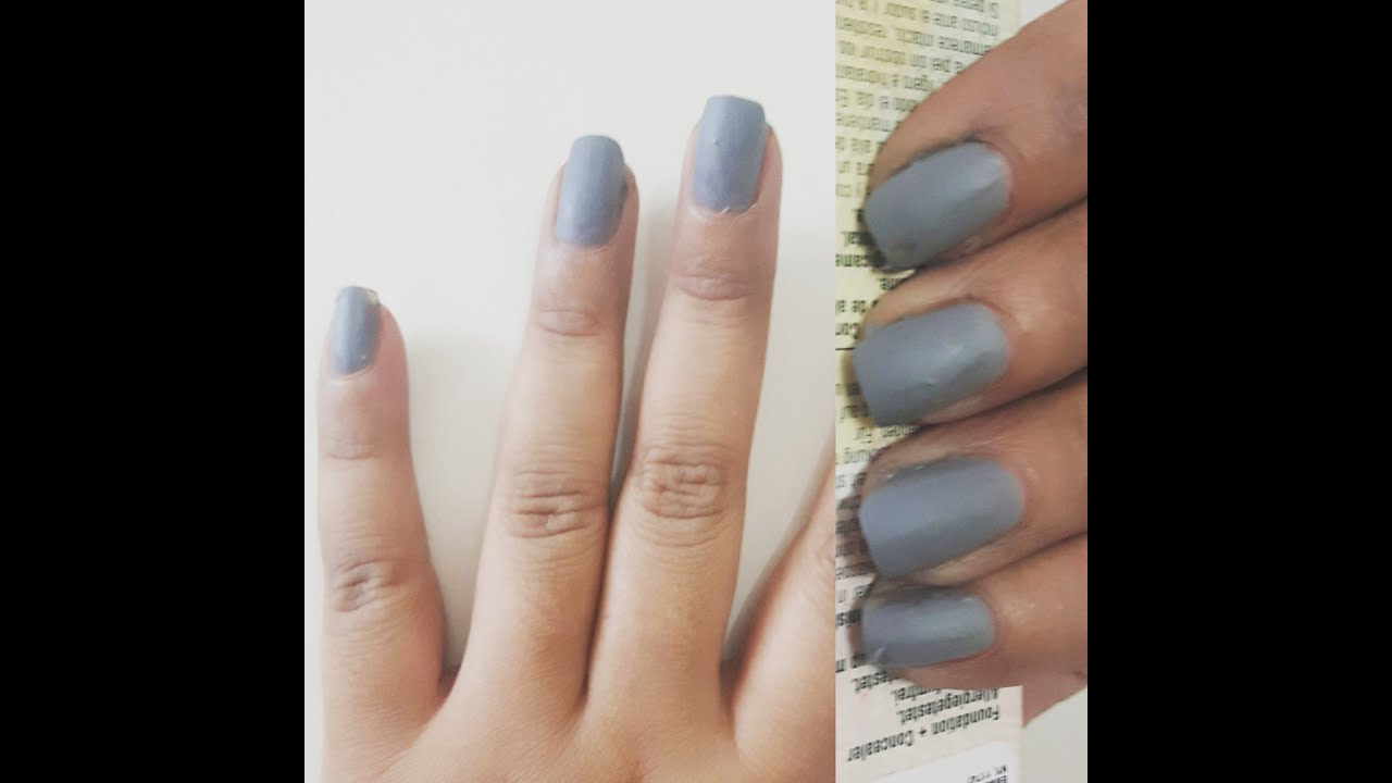 DIY MATTE NAIL POLISH / MAKE ANY NAIL POLISH MATTE! USING STEAM ONLY ...