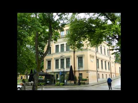 Uppsala - City Tour (Shopping, Cathedral, Riverfront, Castle) 2015 07 25