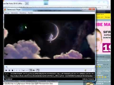 bilgisayar 3d film izleme