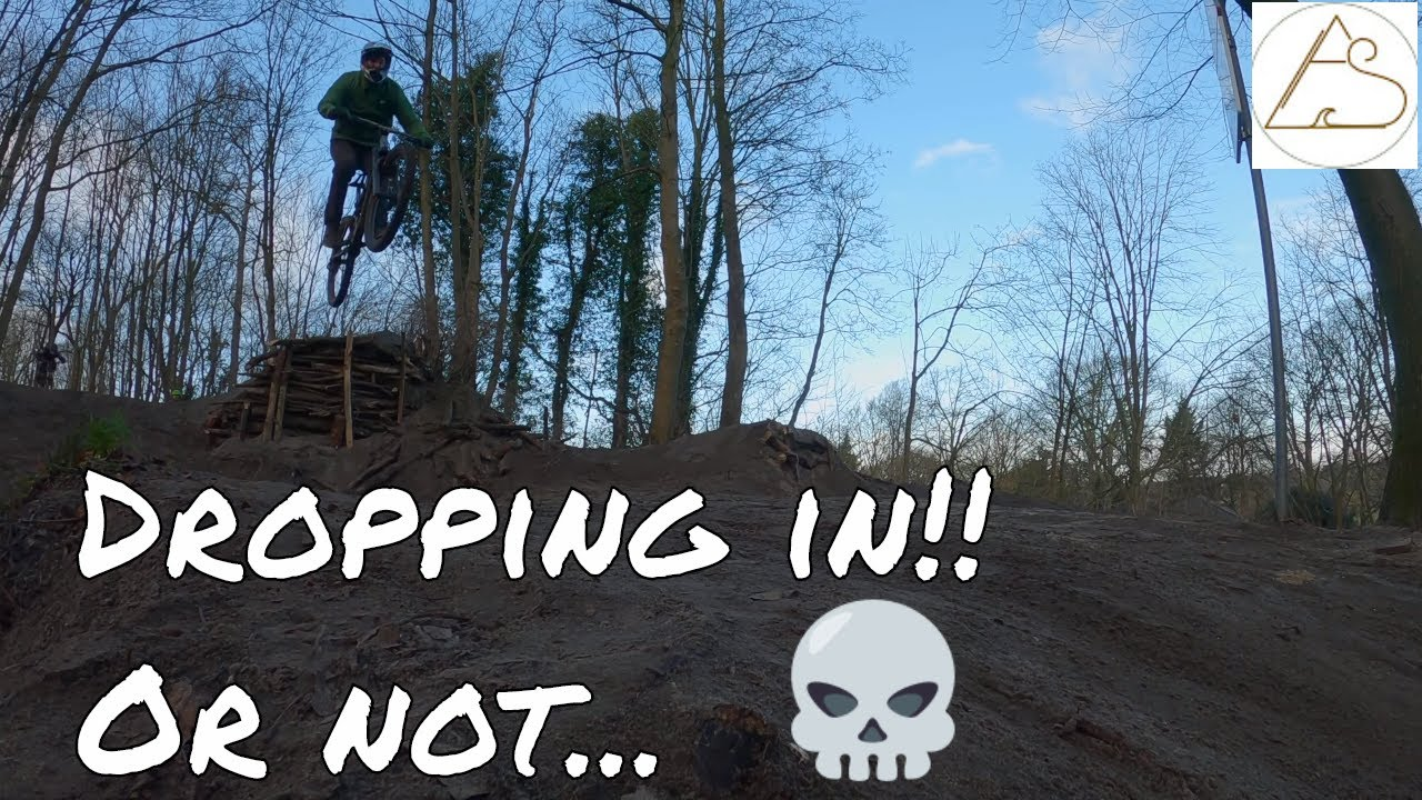 Weekend ride session: This gap really freaked me out - dirt jumping like maniacs in Scheveningen