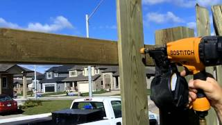 Heritage Design shows you how to install fence boards when building a board on board style fence.