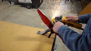 All American Sharpener In Depth Tutorial - Lawn Mower Blade Sharpener
