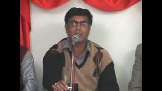 Shahid Zaki - bahar aayegi aur mein namu nahen karunga شاہد ذکی۔