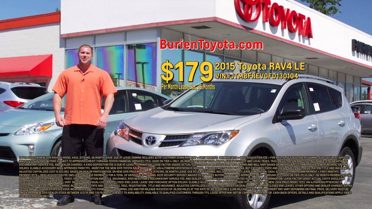 Burien Toyota Hot Deals Youtube