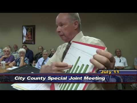 City County Special Tax Meeting - July 11, 2016