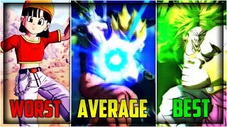DRAGON BALL LEGENDS SUPER ATTACKS RANKED FROM WORST TO BEST! | Dragon Ball Legends!
