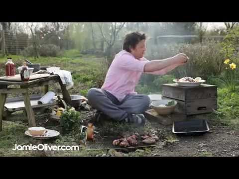 Jamie oliver does bbq fish and salad youtube - Barbecue jamie oliver ...
