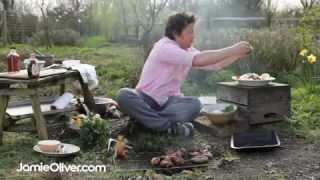 Jamie Oliver Does Bbq Fish And Salad