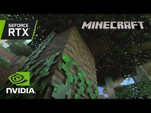 Minecraft RTX ON/OFF Gameplay Demonstration
