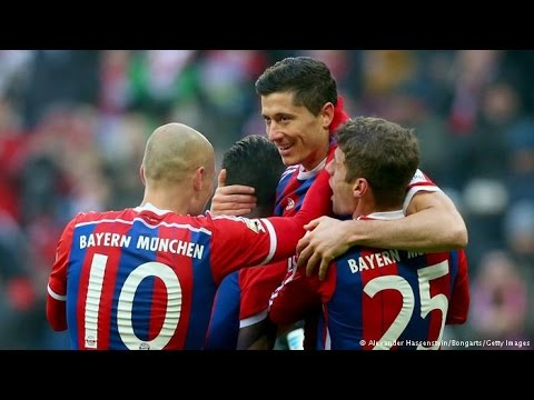 Guardiola Bayern Munich One Touch Football 2014 2015