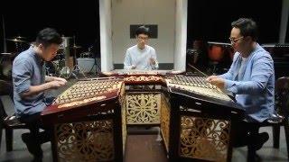 扬琴三重奏 - 《不能说的秘密》斗琴(三) Yangqin Trio - Piano Duel 3