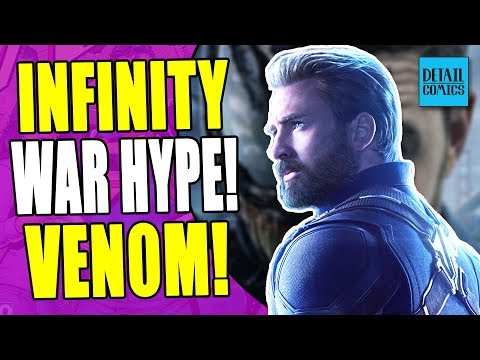 Infinity War World Premiere! New Venom Trailer! (Comic News 4/25/2018)