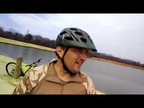 Riding trails at the Trinity River Audubon Center ( AT&T Trail) great adventure part 5 of 7