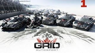 GRID Autosport Gameplay Walkthrough Part 1 PS3 HD