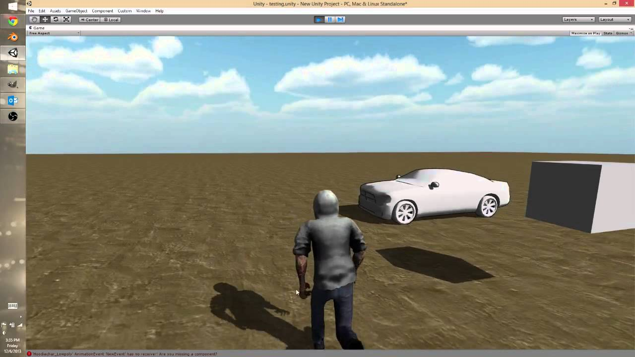 Unity 3rd Person Control and Camera
