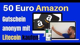 Tutorial 🎁 50€ Amazon Gutschein mit Litecoin (Krypto) kaufen🎁+ Gewinnspiel I Melchionda Network