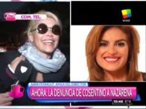 Nara Ferragut, amiga de Cosentino, confirmó la denuncia contra Nazarena Vélez por amenazas