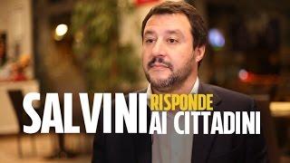 """Salvini risponde ai lettori di Fanpage.it: """"Destra e sinistra sono superate. Votiamo No, poi sfido R"""
