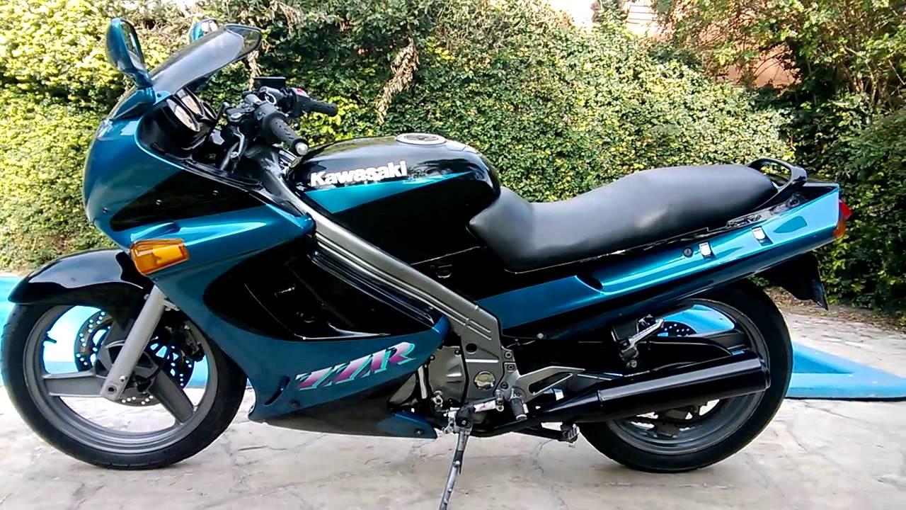 Kawasaki zzr 250 1998 - YouTube