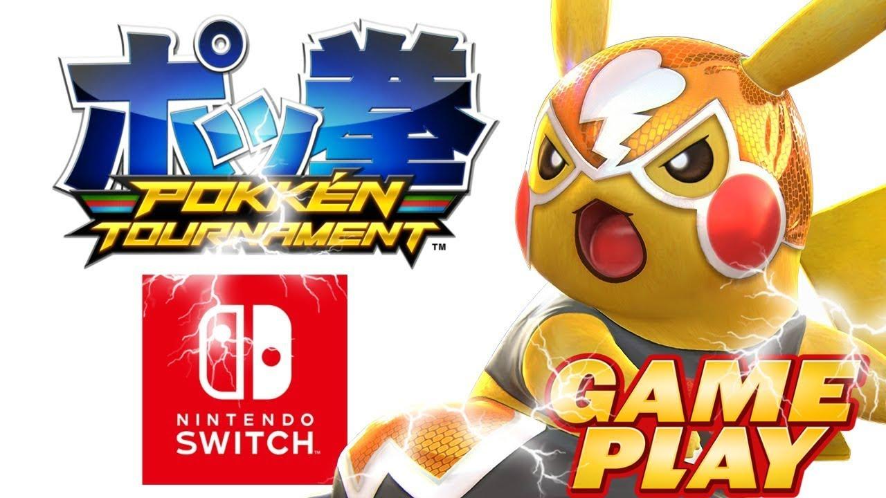 Pokken Tournament Dx Probando El Juego Por Fin Nintendo Switch