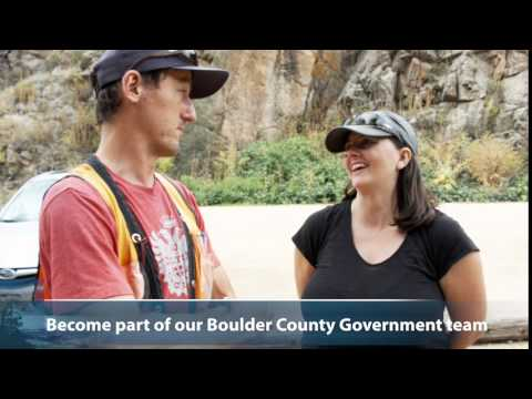 Work for Boulder County Government today!