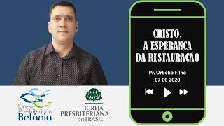 João 5.1-9 - Cristo, a esperança da restauração