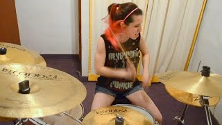 "Megadeth ""Symphony of destruction"" Drum Cover (by Nea Batera)"