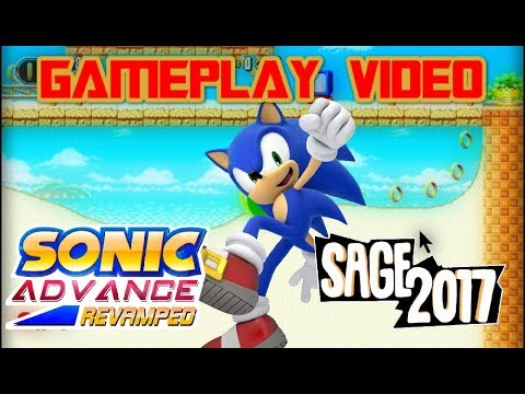 Sonic Advance Revamped Gameplay - SAGE2017