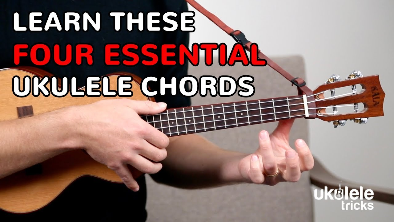 Learn to Play Your First Four Ukulele Chords For Beginners ...