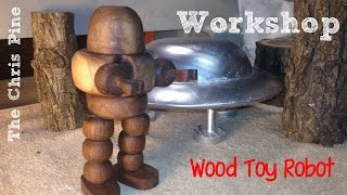 Tree Project: Wood Turned Robot