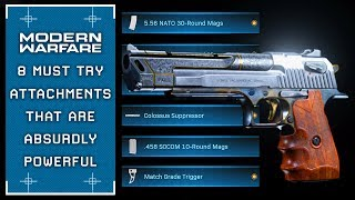 Modern Warfare: 8 Attachments That Are Insanely Powerful (MUST TRY)