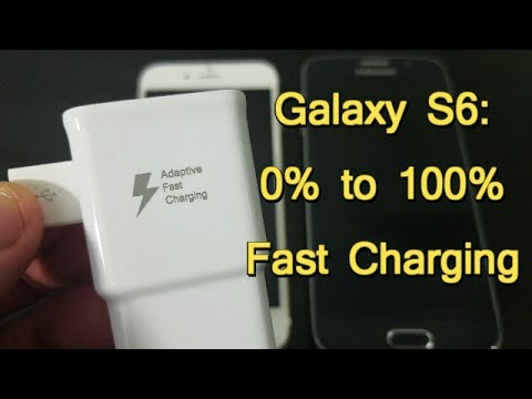 Galaxy S6: How Much Time Using Adaptive Fast Charging from 0% to 100%?