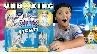 Sunscraper Spire Unboxing! Knight Light + Trap (skylanders Trap Team Light Element Expansion Pack)