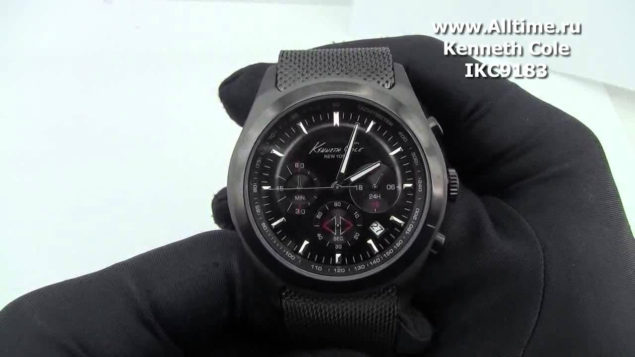 ca0c2abb9ab Мужские наручные fashion часы Kenneth Cole IKC9183 - YouTube