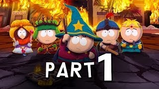 South Park Stick of Truth Walkthrough Part 1 - DOUCHEBAG MAGE - PS3 PC Xbox 360 Gameplay