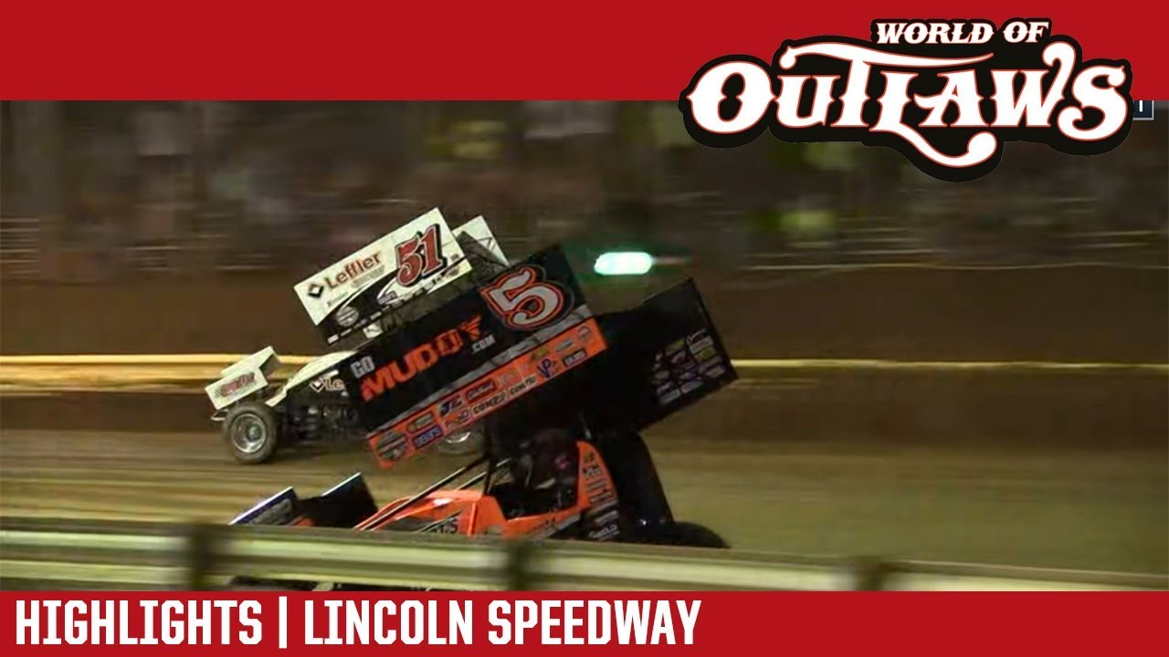 world-of-outlaws-craftsman-sprint-cars-lincoln-speedway-july-19-2018-highlights