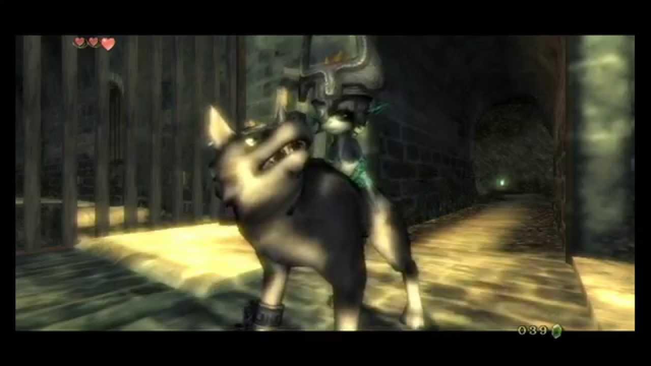 zelda twilight princess part 6 quotlink becomes wolf link