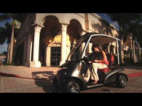Luxury street legal golf car - The Garia - Leisure