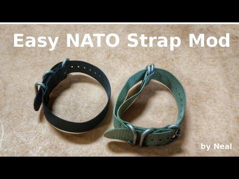 Super Easy NATO Strap Mod