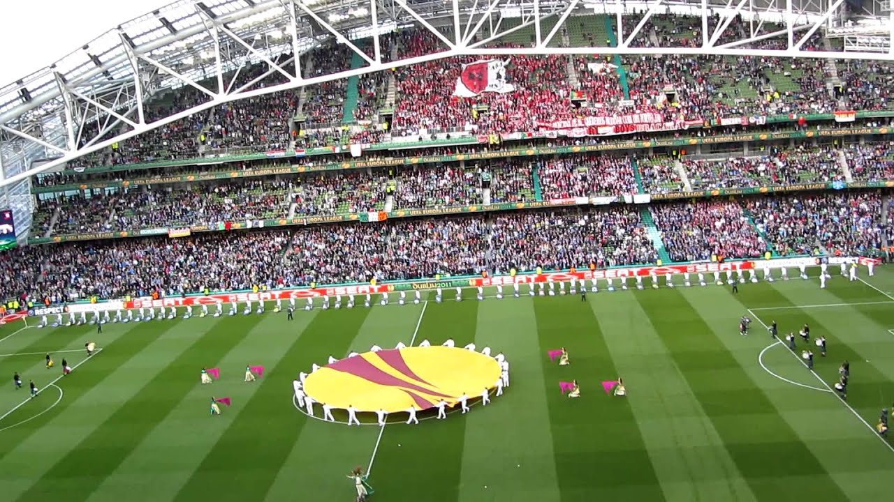 UEFA Europa League Final 2011: Closing Ceremony (LIVE from ...